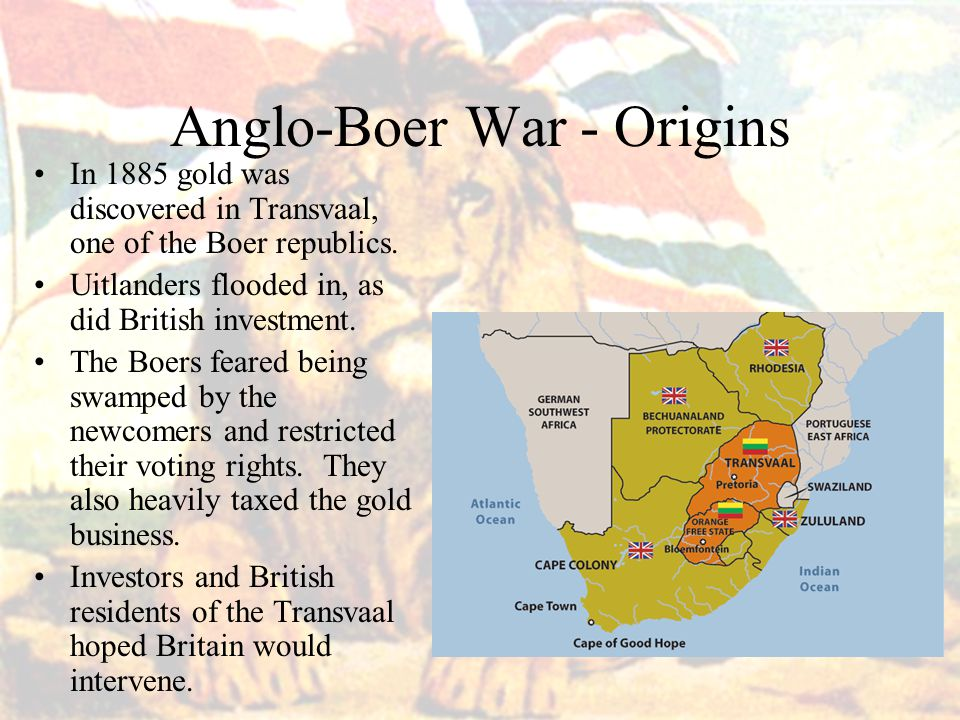 Anglo-Boer War - Origins