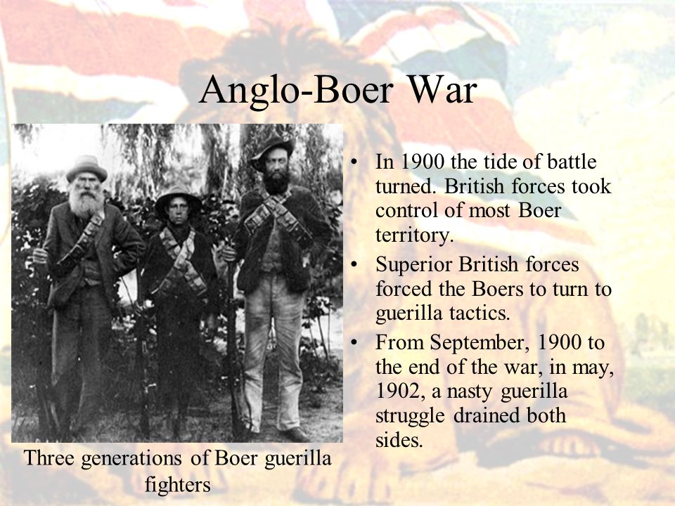 Three generations of Boer guerilla fighters