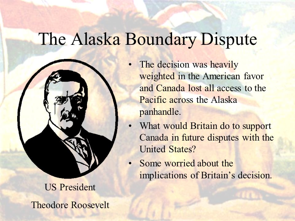 The Alaska Boundary Dispute