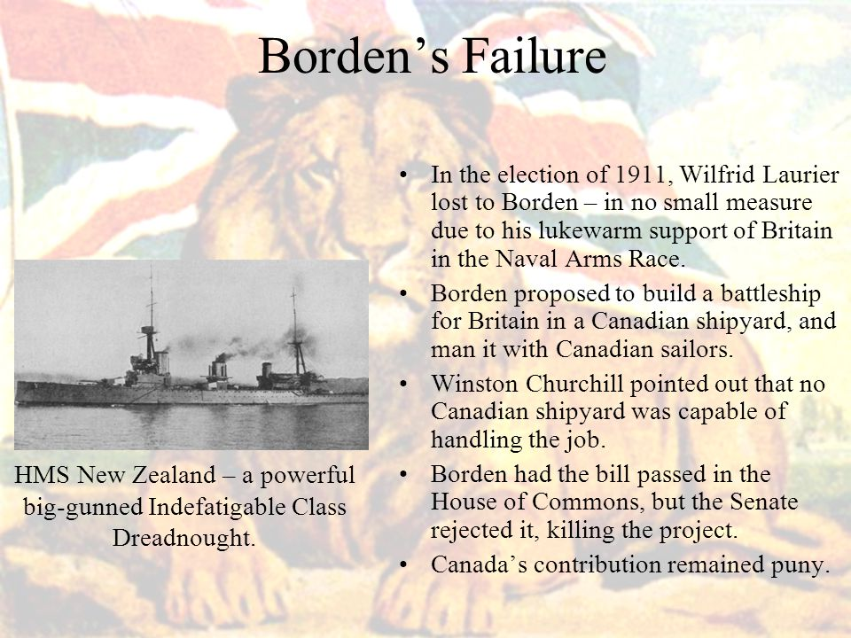 Borden's Failure