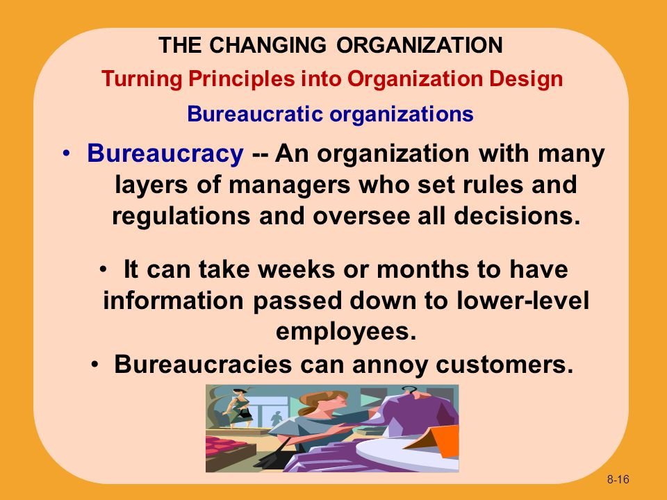 Bureaucratic organizations