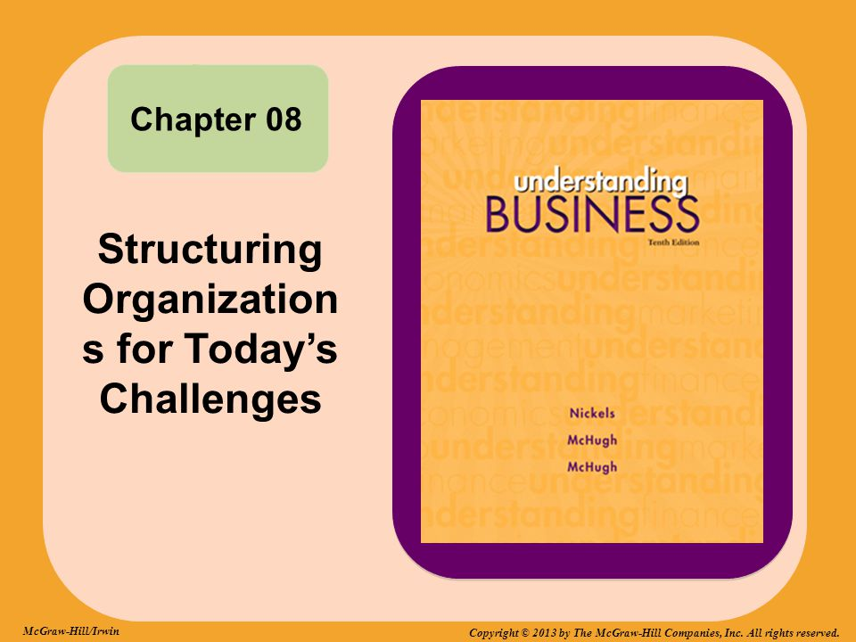 Structuring Organization s for Today's Challenges