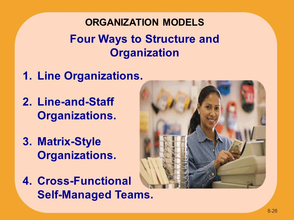 Four Ways to Structure and Organization
