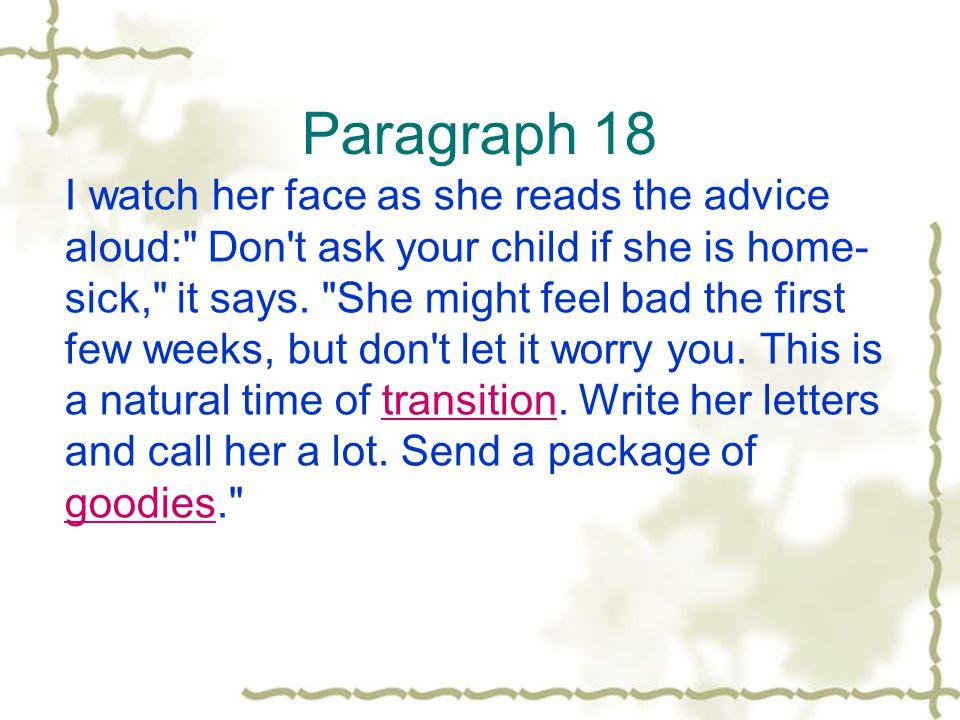 Paragraph 18