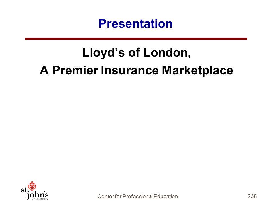 A Premier Insurance Marketplace