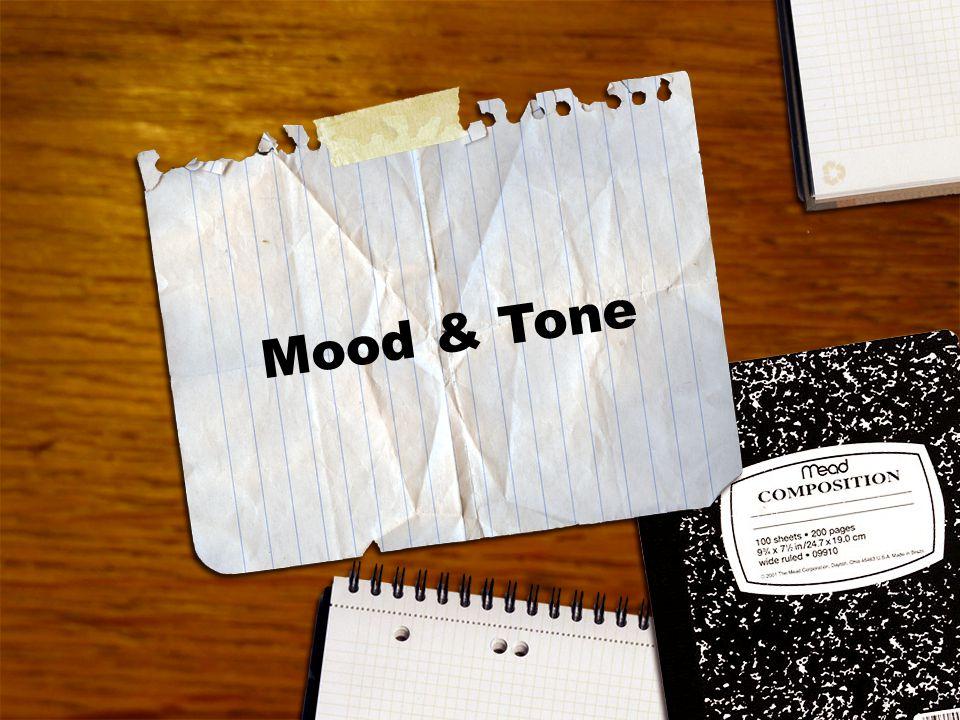 PA State Standards Mood & Tone LANGUAGE ARTS
