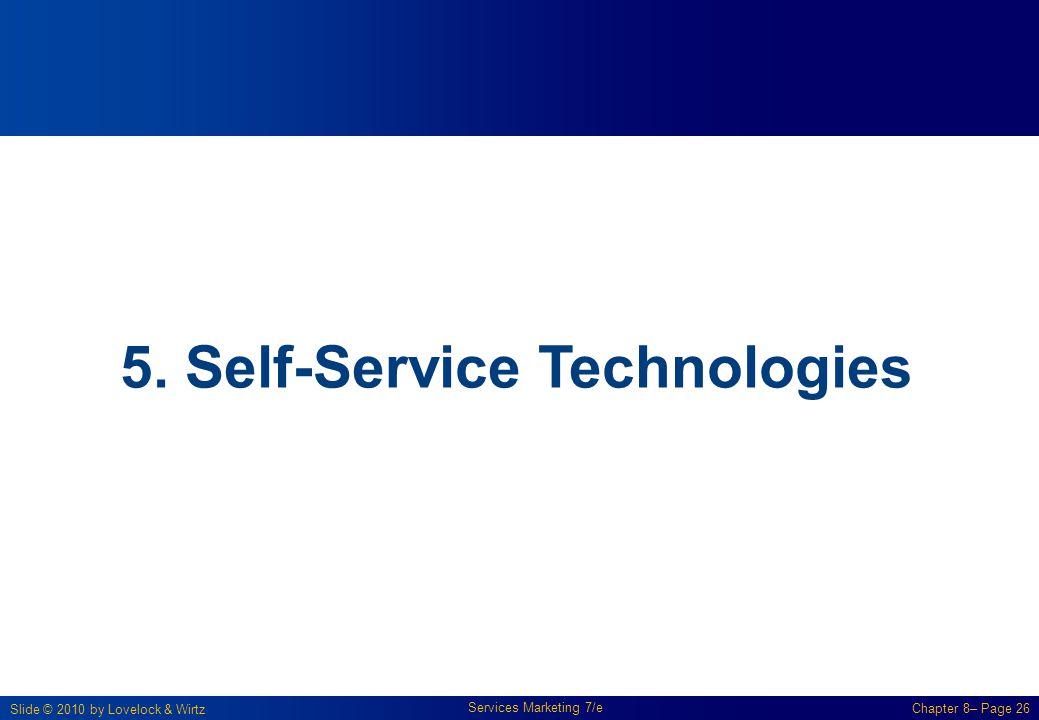 5. Self-Service Technologies