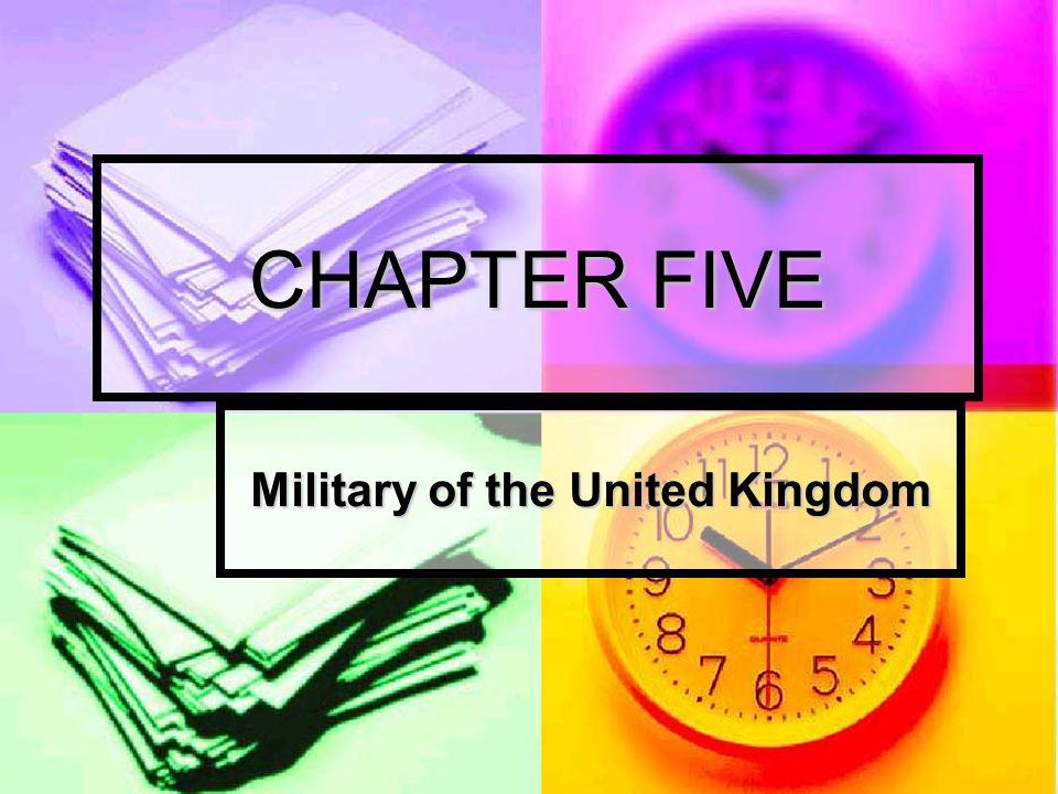 Military of the United Kingdom