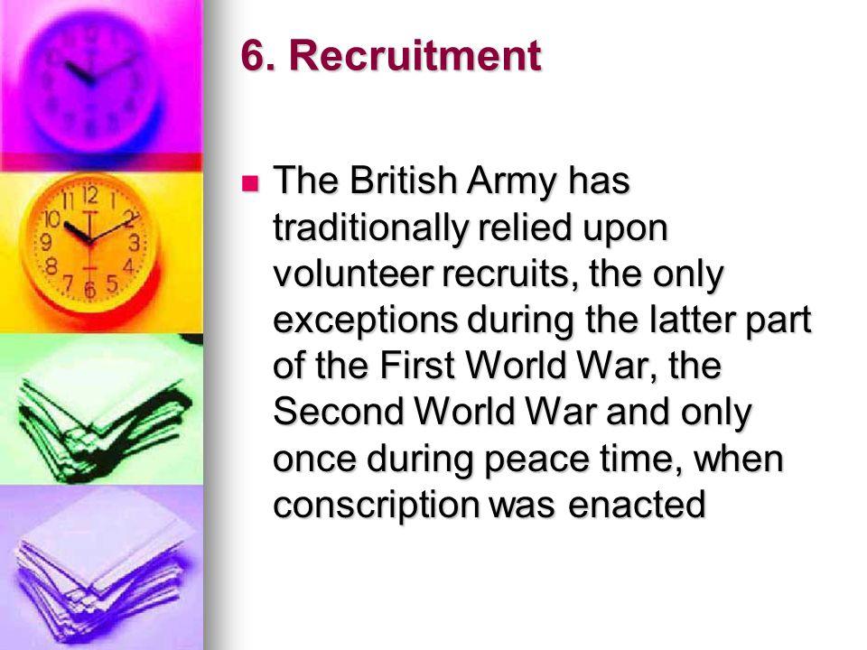 6. Recruitment