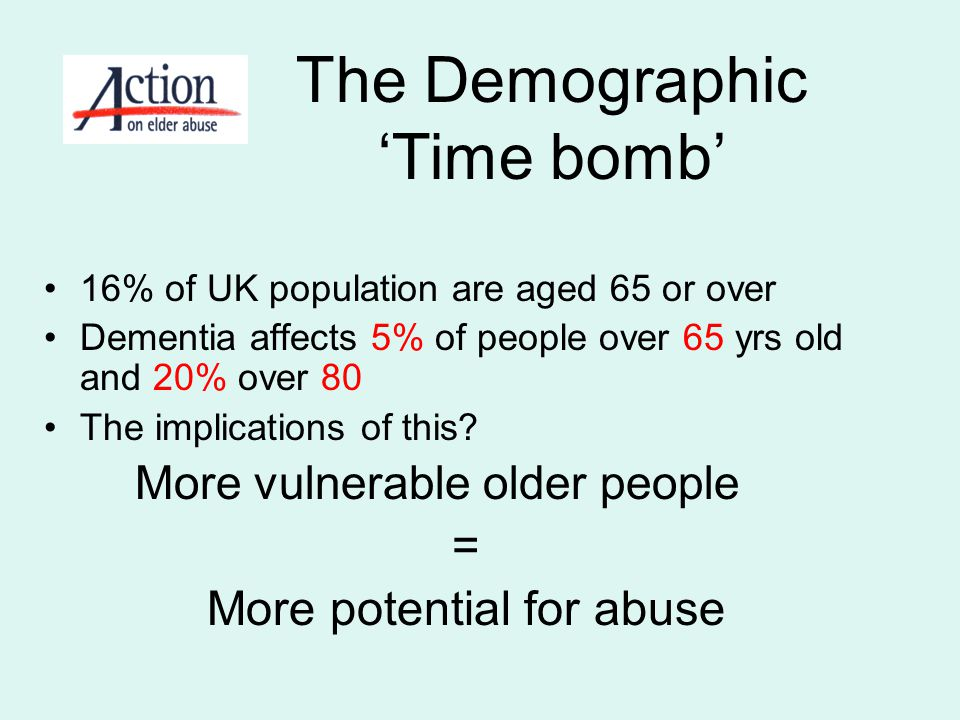 The Demographic 'Time bomb'