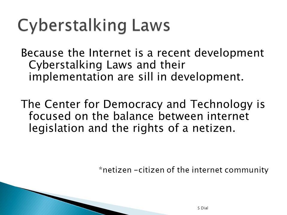 Cyberstalking Laws