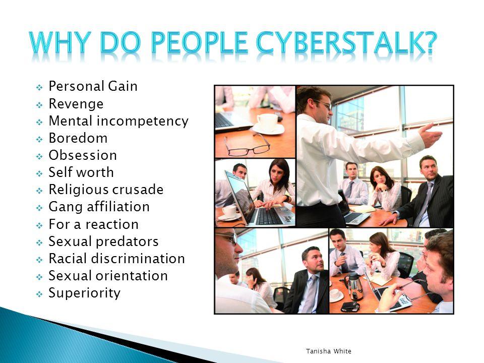Why do people cyberstalk