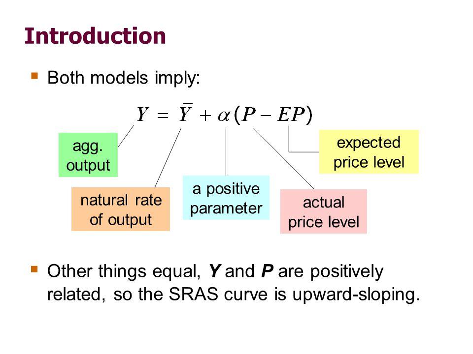 The sticky-price model