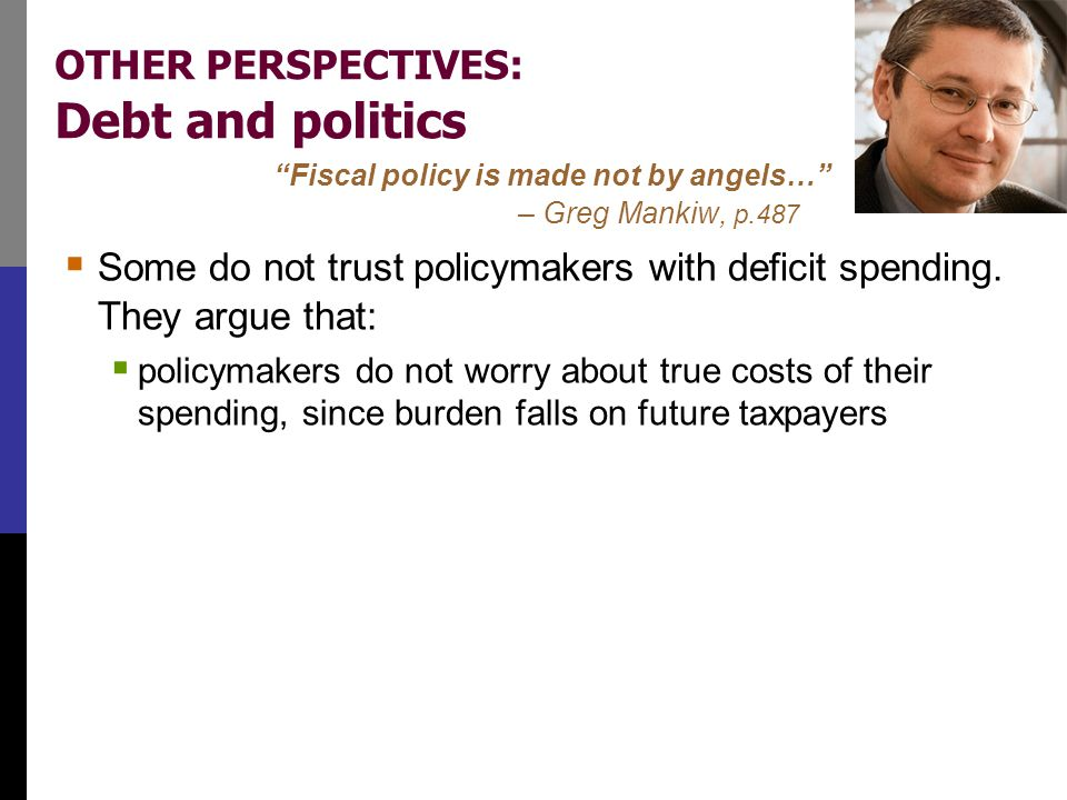 OTHER PERSPECTIVES: Fiscal effects on monetary policy