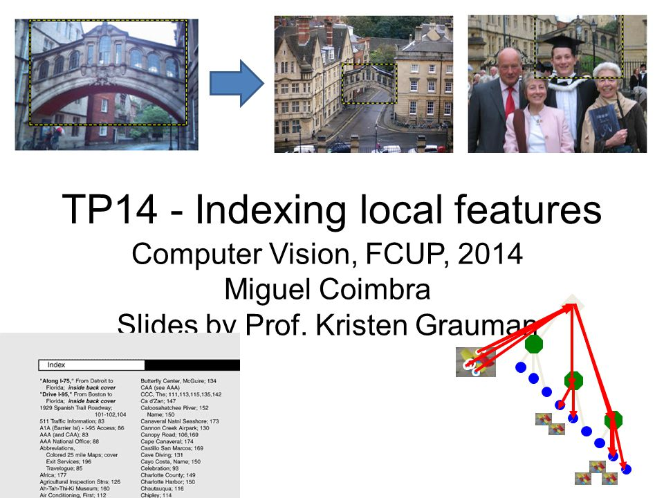 TP14 - Indexing local features