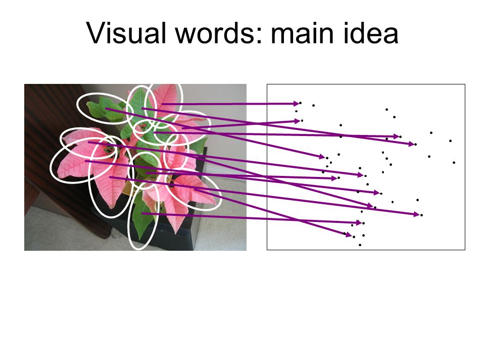 Visual words: main idea