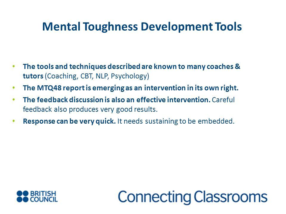 Mental Toughness Development Tools