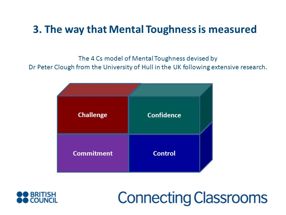 3. The way that Mental Toughness is measured