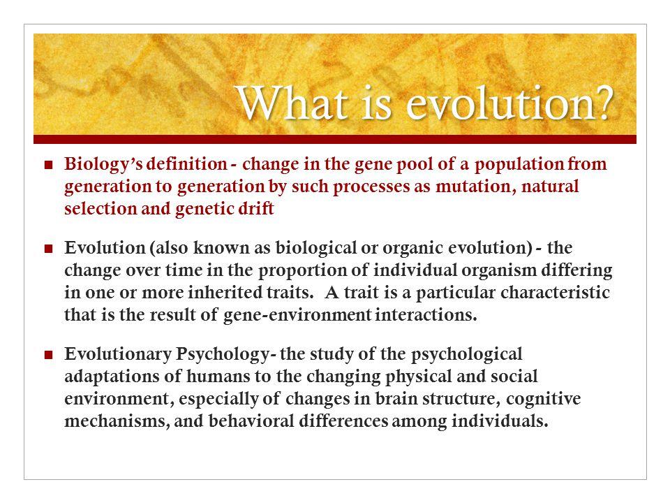 Evolutionary Psychology - ppt download