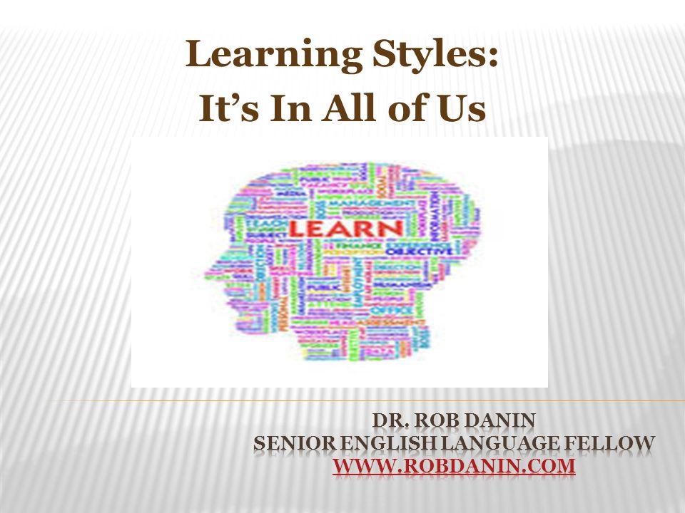 Dr. Rob Danin Senior English Language Fellow www.robdanin.com
