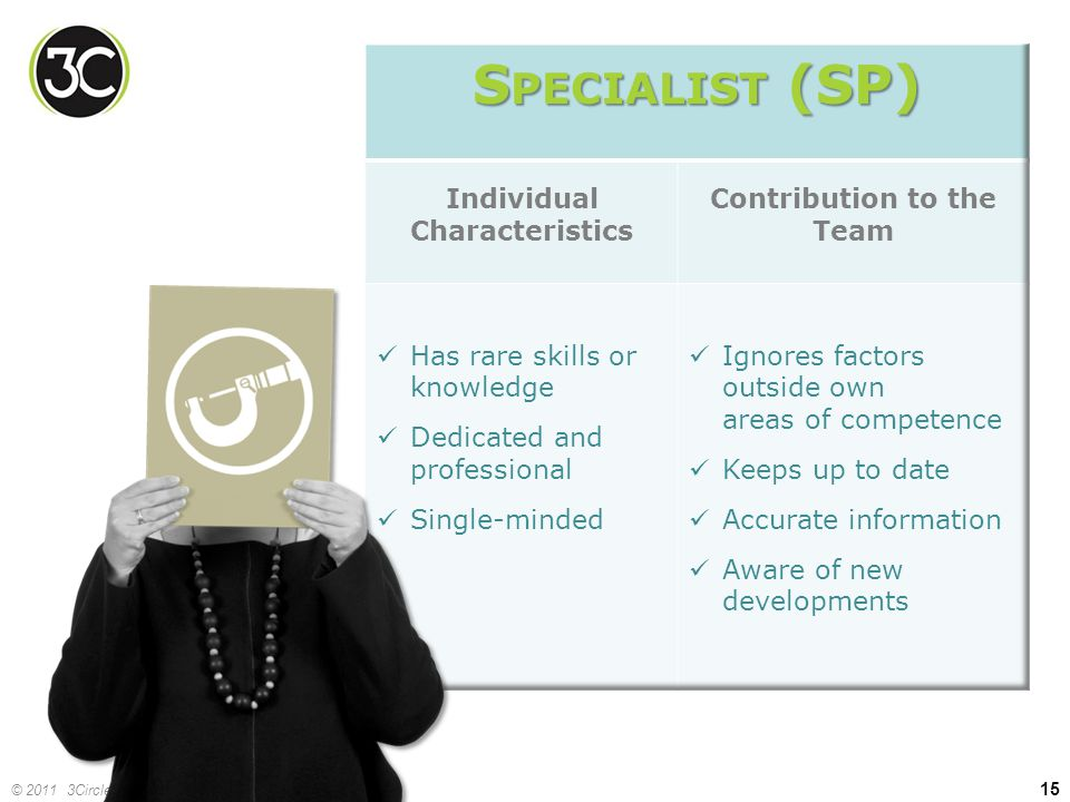 Individual Characteristics Contribution to the Team