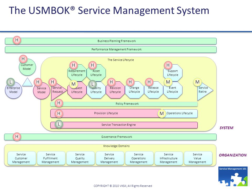 The USMBOK® Service Management System