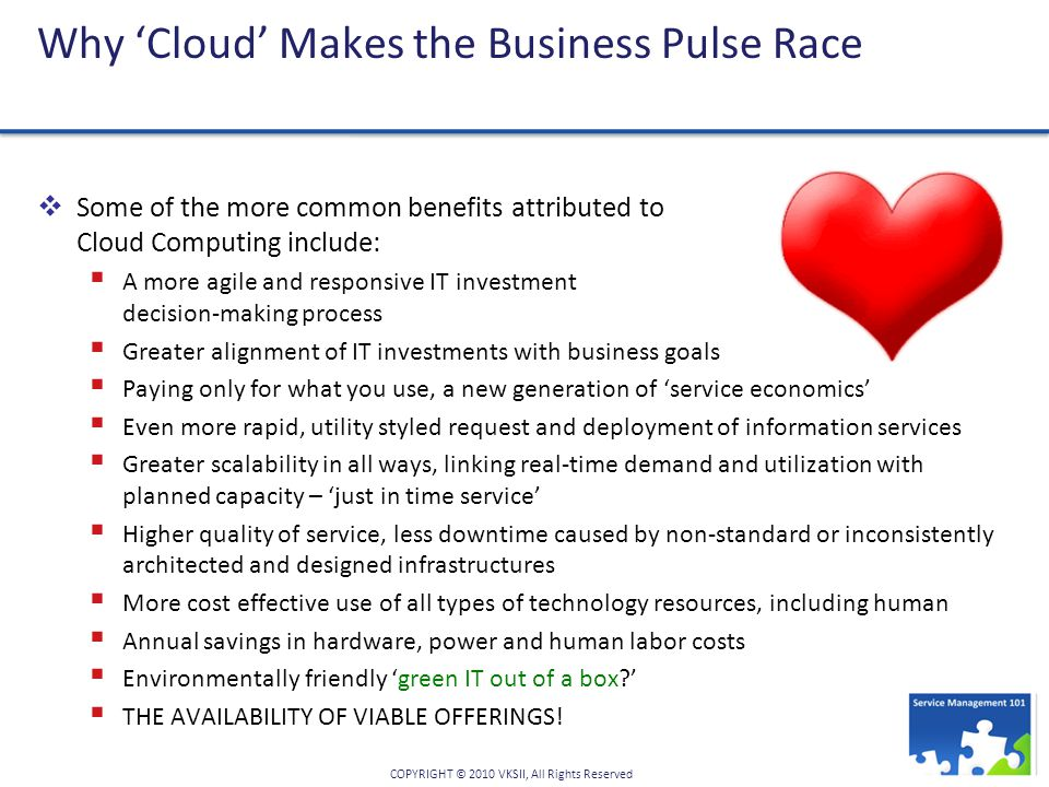 Why 'Cloud' Makes the Business Pulse Race