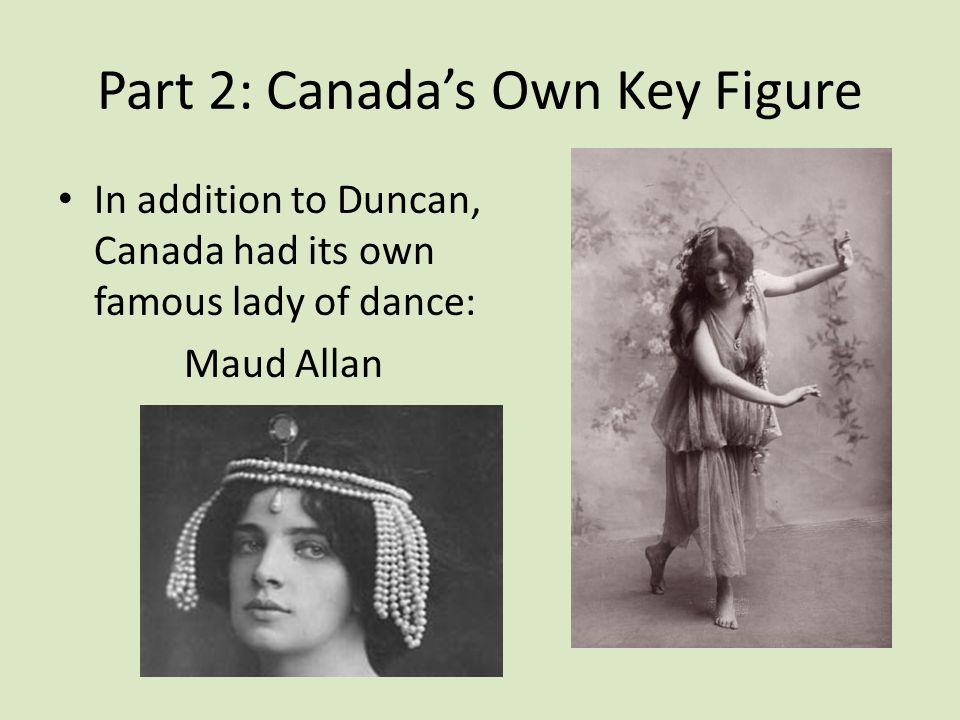 Part 2: Canada's Own Key Figure