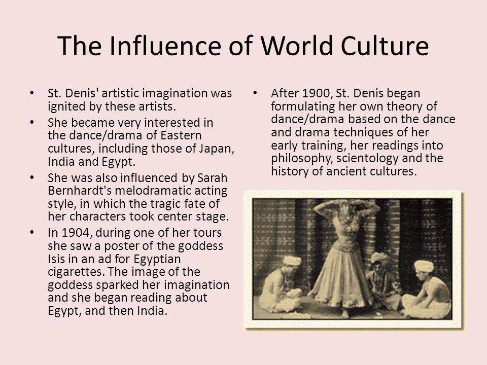 The Influence of World Culture