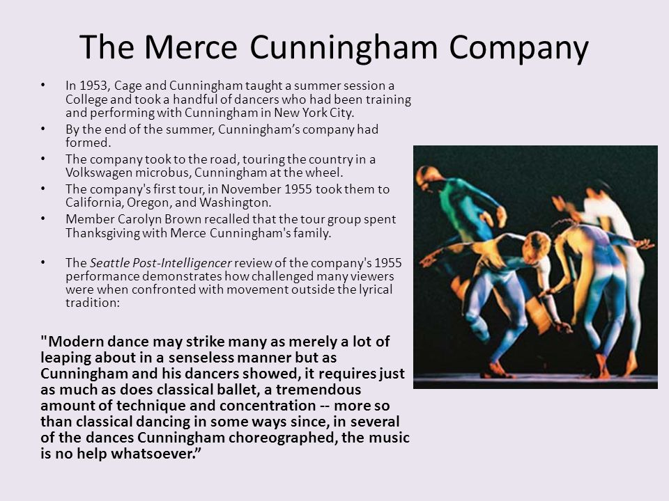 The Merce Cunningham Company