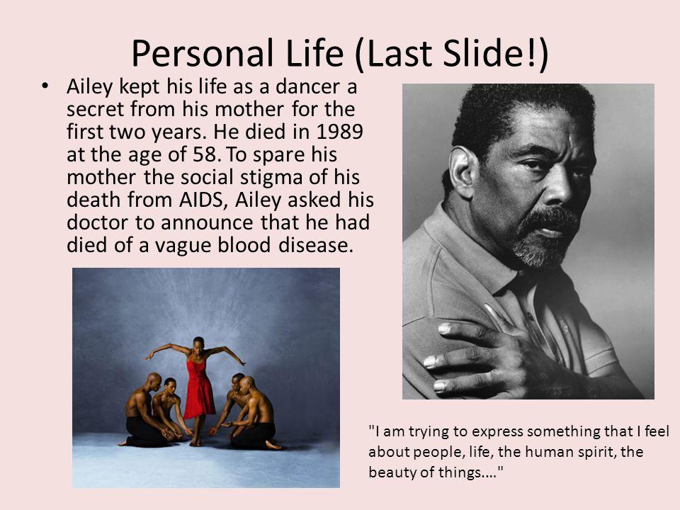 Personal Life (Last Slide!)