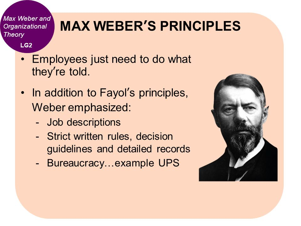 max webber bureaucratic managment Max weber would appear to be an unproblematic author in administrative studies , as his  27 educational management & administration 0263-211x (200201) 30 :1  cational leadership, except as a foil for anti-bureaucratic theories, despite.