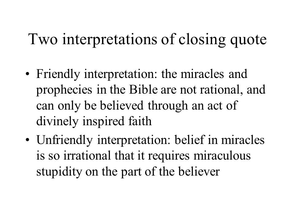 Two interpretations of closing quote