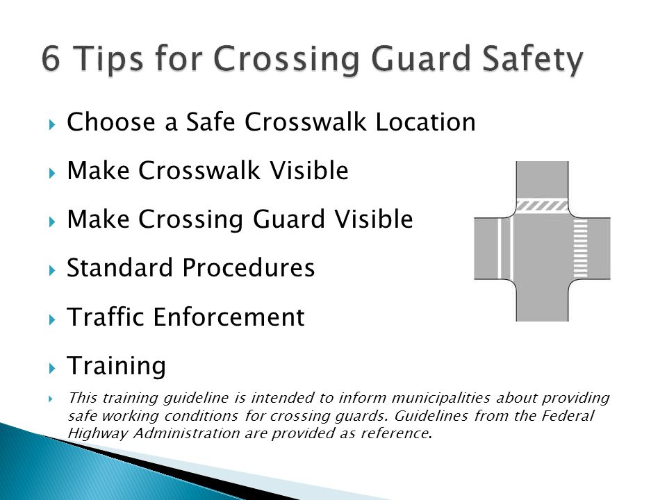 6 Tips for Crossing Guard Safety