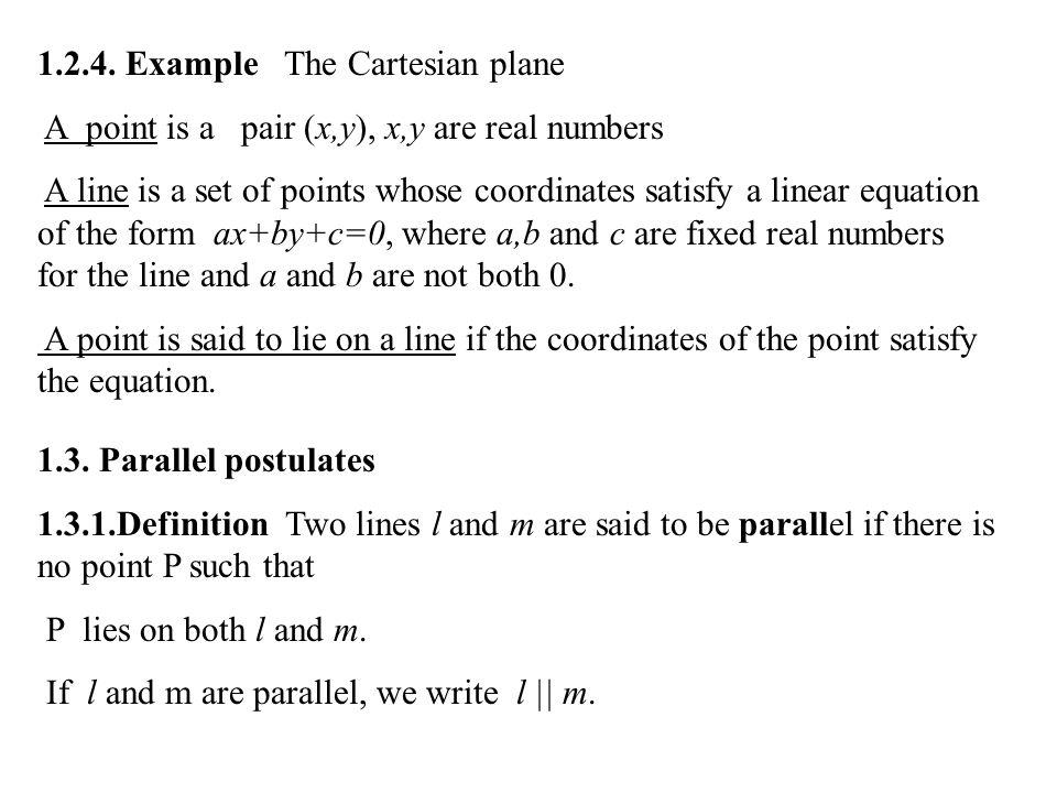 1.2.4. Example The Cartesian plane