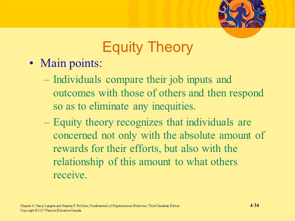 Equity Theory Main points: