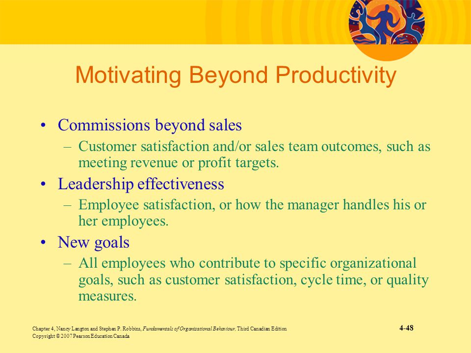 Motivating Beyond Productivity