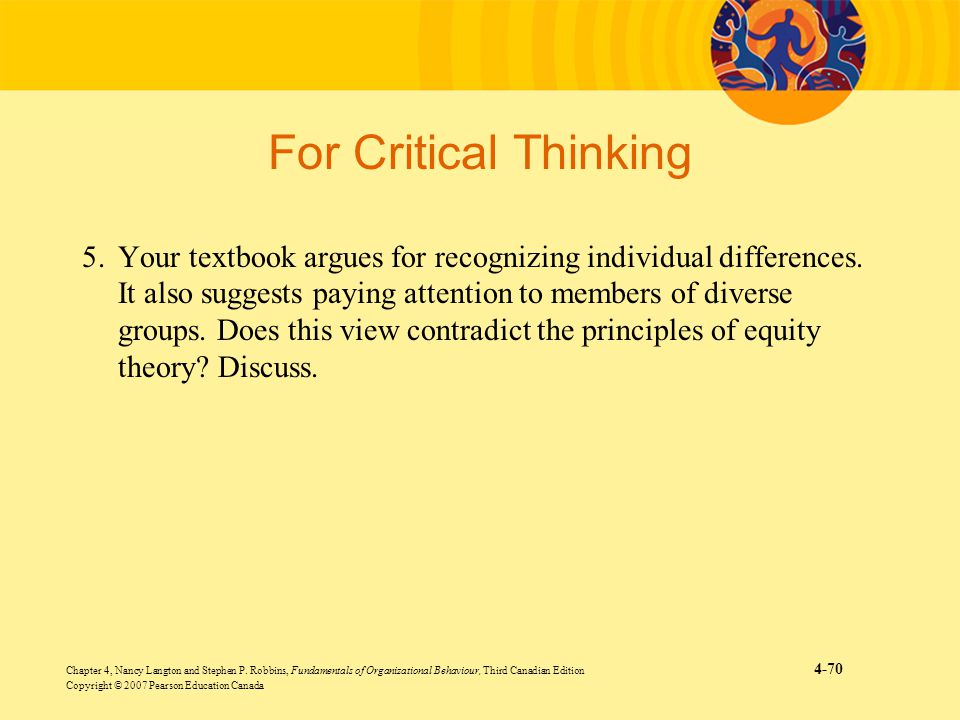 For Critical Thinking