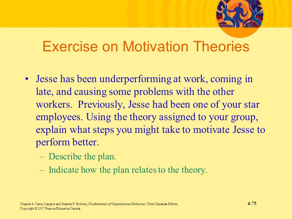Exercise on Motivation Theories