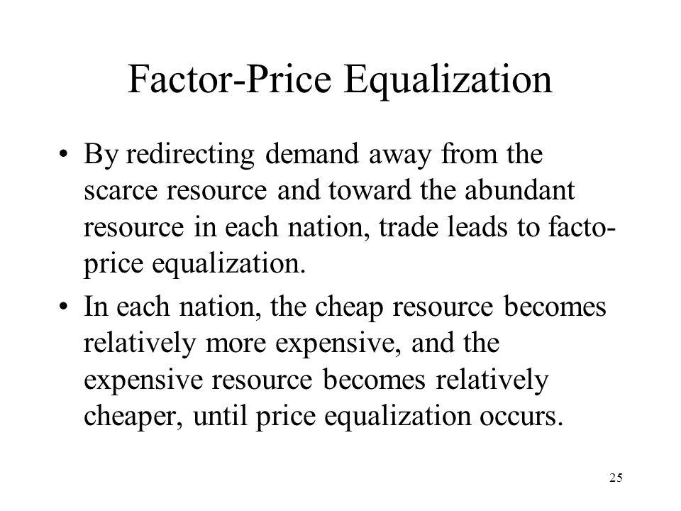 Factor-Price Equalization