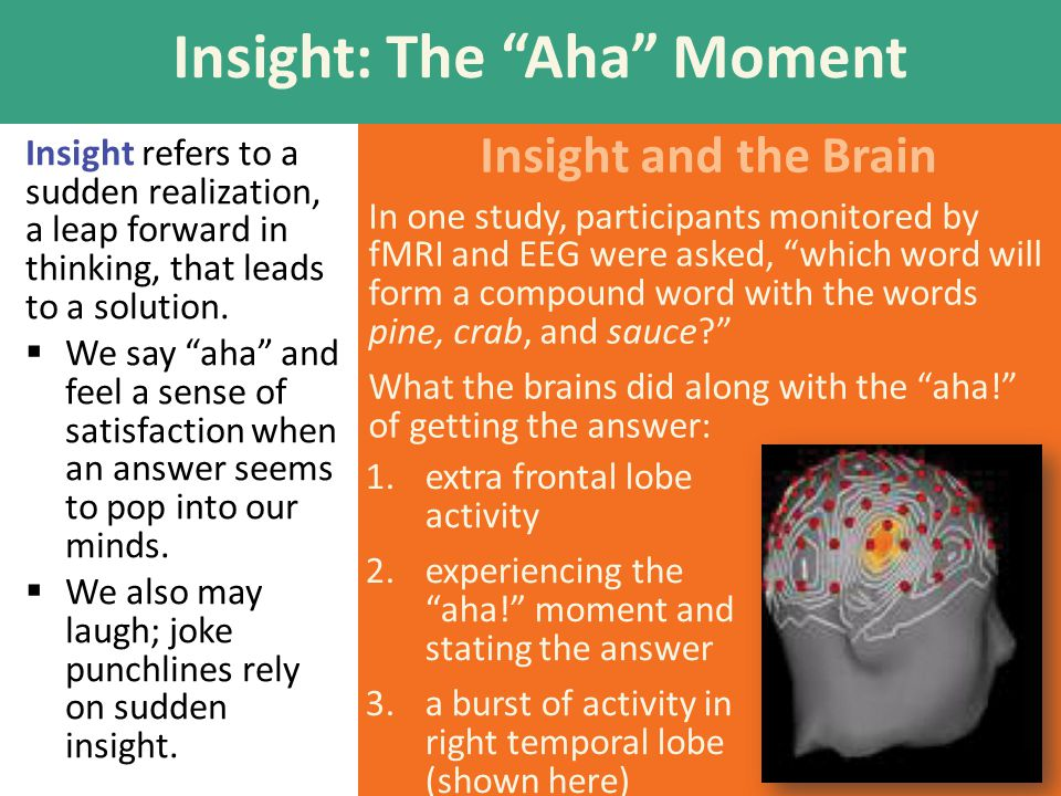 Insight: The Aha Moment