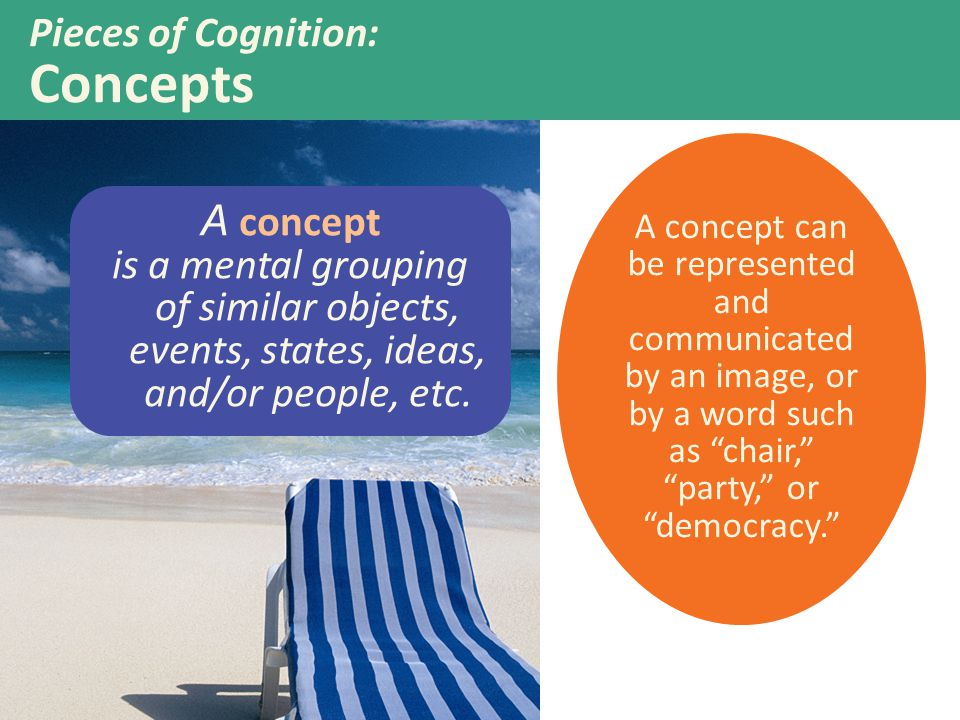 Pieces of Cognition: Concepts