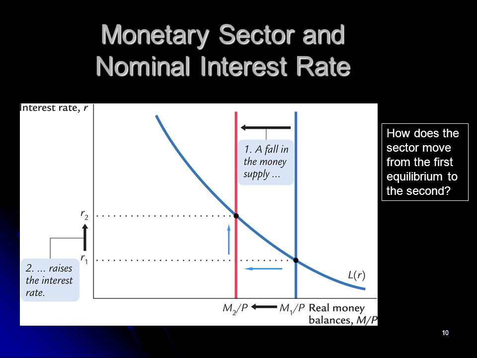Monetary Sector and Nominal Interest Rate