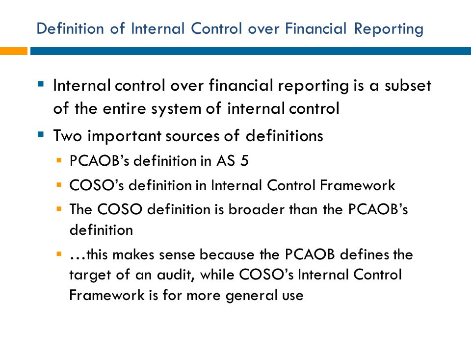 internal control over financial reporting essay He started writing technical papers while working weakness in financial management internal controls examples of internal control over financial reporting.