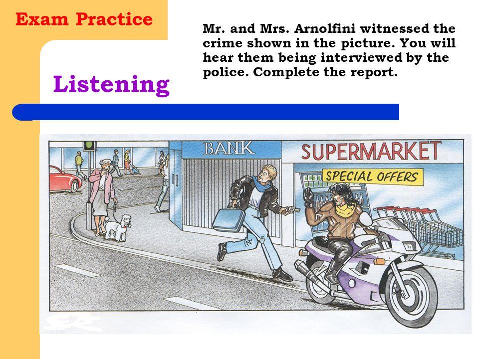 Listening Exam Practice