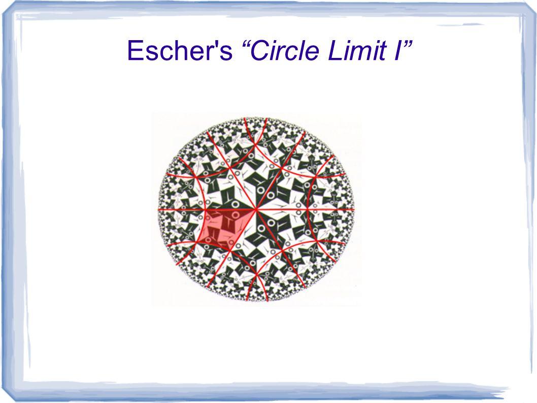 Escher s Circle Limit I