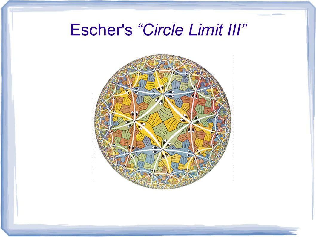 Escher s Circle Limit III