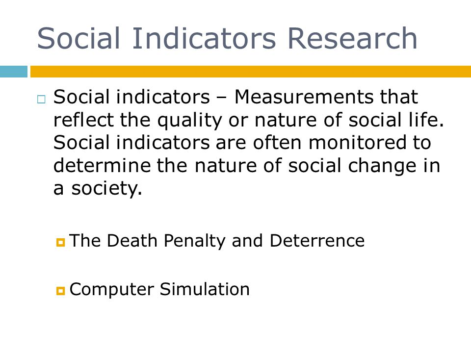 Social Indicators Research