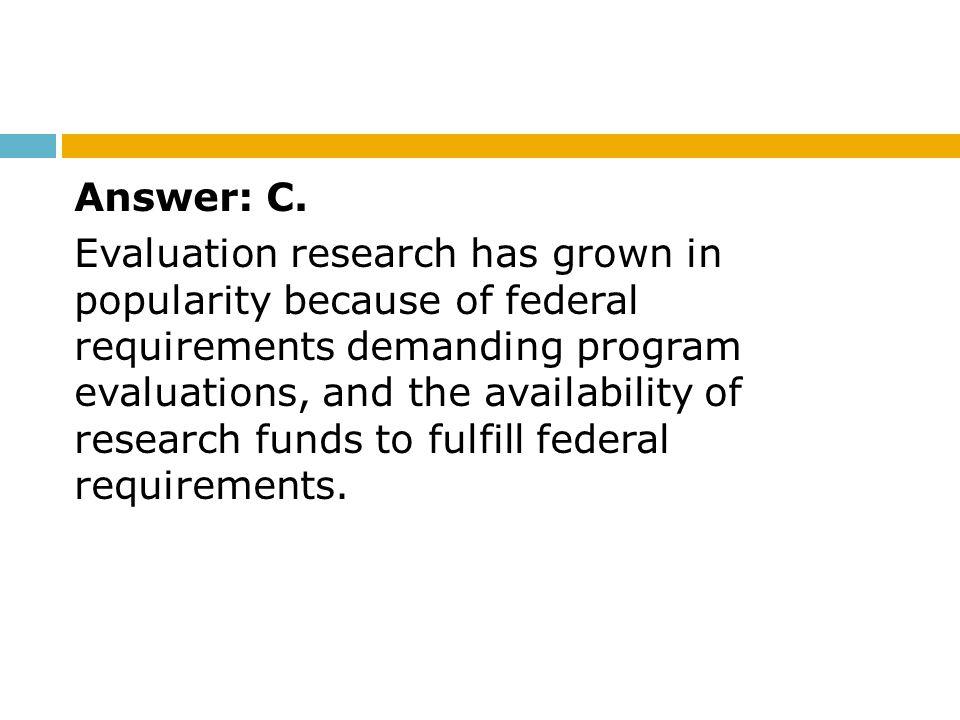 Answer: C.
