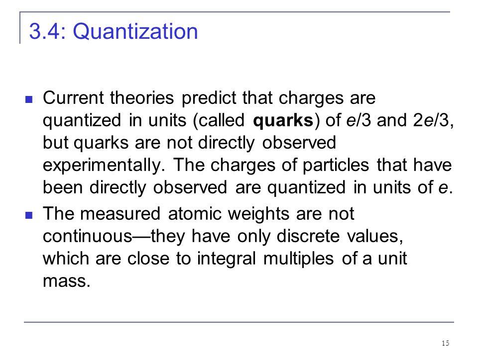 3.4: Quantization